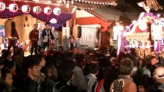 平成26年 世田谷区・瀬田玉川神社 【騒動】宮神輿着輿=神楽殿前