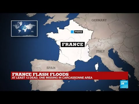 France flash floods: