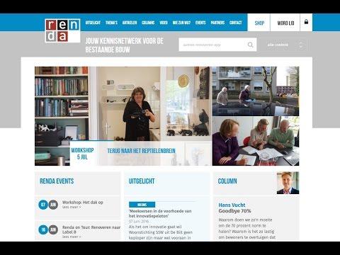 Renda heeft een nieuwe website!
