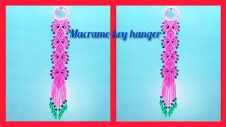 Macrame Key hanger(Unique design)