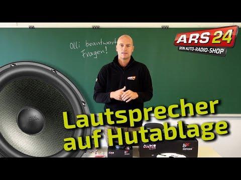 Sind Lautsprecher auf Heckablage sinnvoll? || Tutorial || ARS24.com