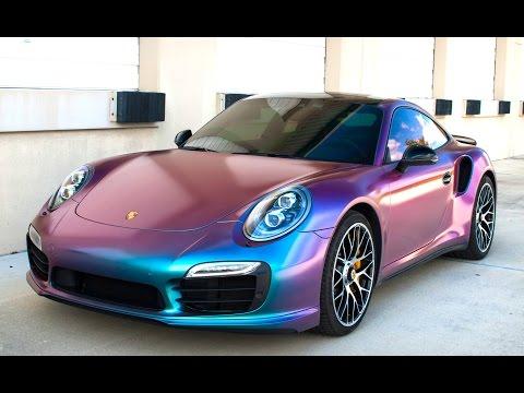 New Porsche 911 Turbo S Gets Sprayed In Chameleon Plasti