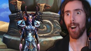 NEW Asmongold Transmog Competition - THE BEST ONE YET!