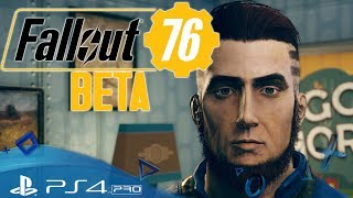 Wir starten in die Beta 🔫 Let's Play Fallout 76 ⚛ PlayStation 4 PRO 4K Deutsch