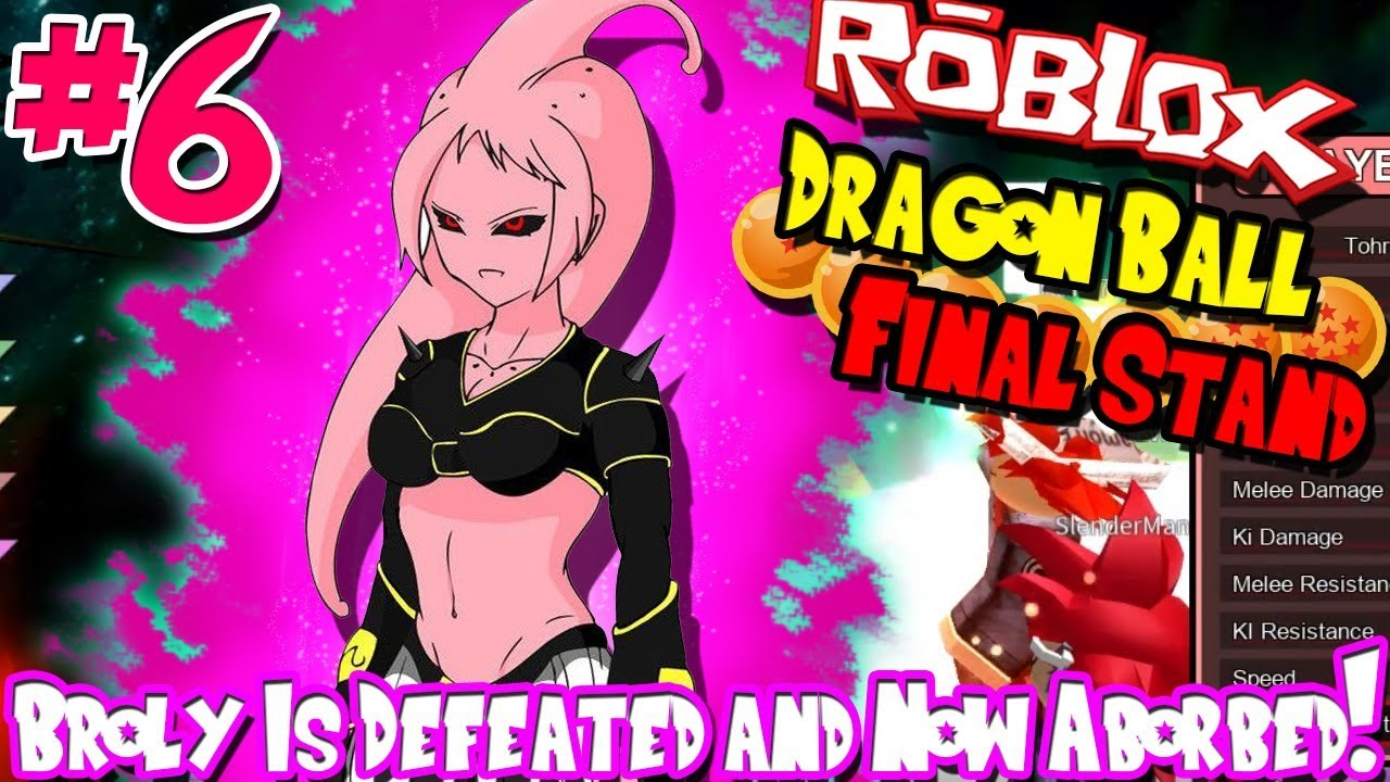 BROLY IS DEFEATED AND NOW ABSORBED! | Roblox: Dragon Ball