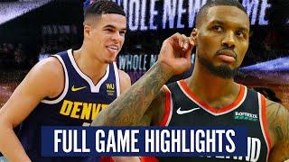 PORTLAND TRAILBLAZERS vs DENVER NUGGETS - FULL GAME HIGHLIGHTS | 2019-20 NBA SEASON