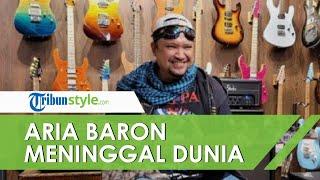 Memburuk setelah Serangan Jantung dan Covid-19, Mantan Gitaris Gigi Aria Baron Meninggal Dunia