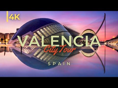 סרטון נפלא של מיטב האתרים בעיר ולנסיה באיכות 4K