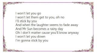 Chris Rea - Stick by You Lyrics