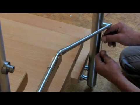 Montageanleitung Geländer mit Relingstäben