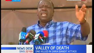 Interior CS Fred Matiang'i talks to Kerio Valley residents over increase in banditry attacks