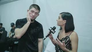 Khabib's Funniest interview with Megan