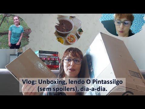 VLOG 02: Unboxing (Hermione, livros e mais) + lendo O Pintassilgo (sem spoilers) + dia-a-dia.