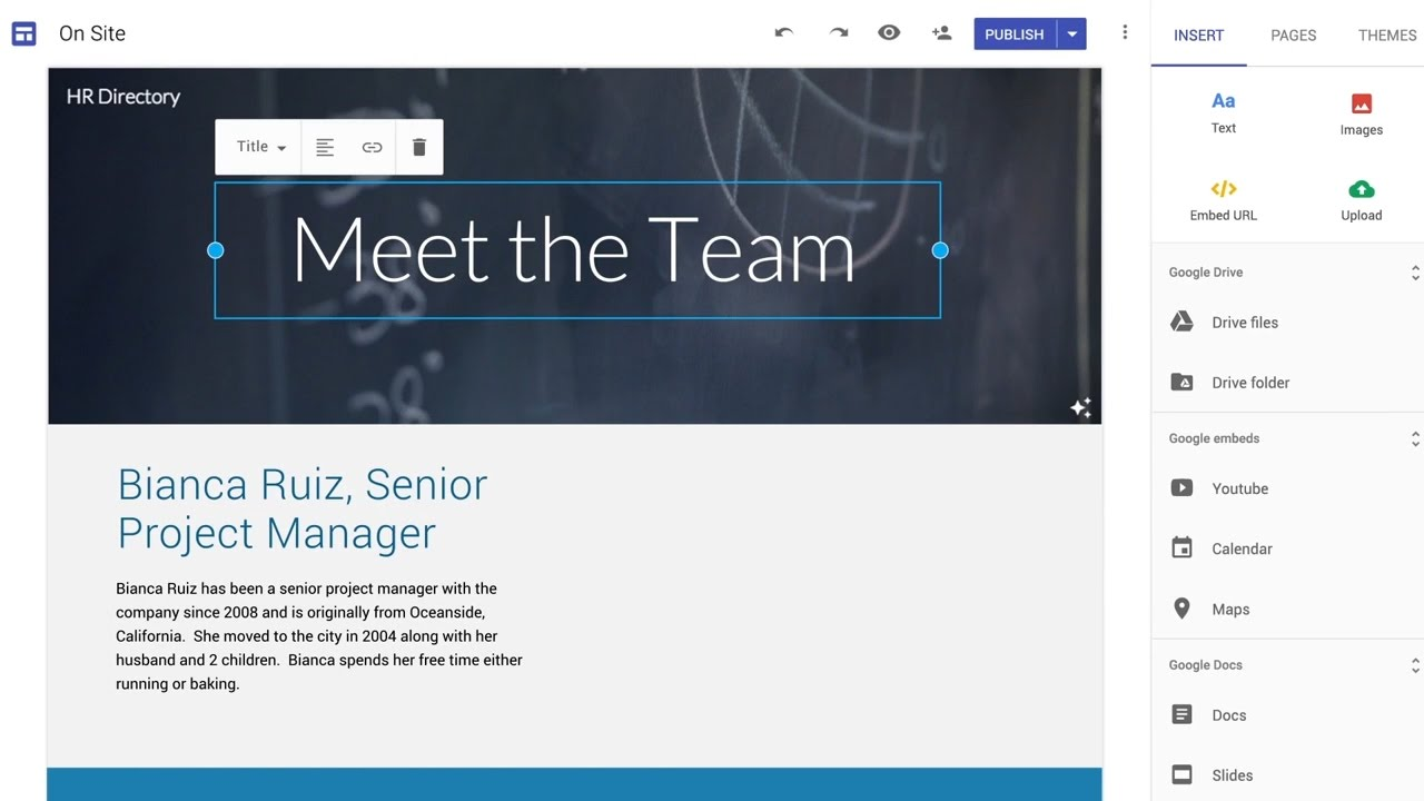 Introducing A Completely Refreshed Google Sites Now Available For Everyone