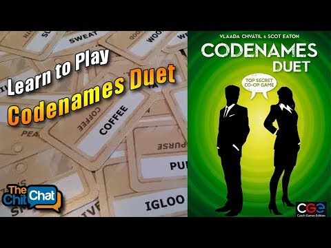 How to Play: Codenames Duet