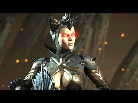 Mortal Kombat X - Kitana Dark Empress Costume Klassic Arcade Ladder Gameplay Playthrough