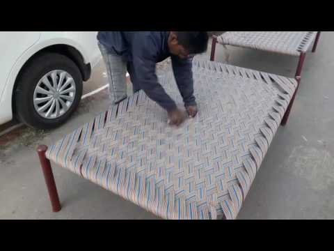 Weaving a Rope Bed