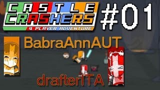 preview picture of video 'Castle Crashers with BabraAnnAUT LP #1, Austria meets Italy!'
