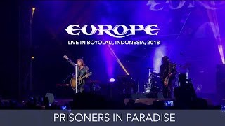 Europe - Prisoners in Paradise - Live in Boyolali, Indonesia 2018