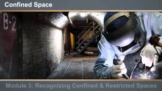 Confined Space Entry - eLearning Course Online Preview