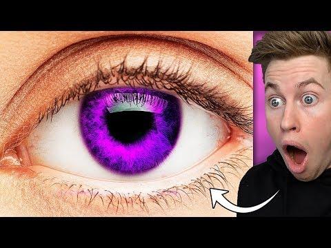 Seltenste augenfarbe die Kontaktlinsen Für