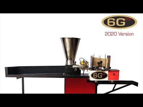 KIO 6G Eco Speed Fully Automatic Incense Stick Making Machine