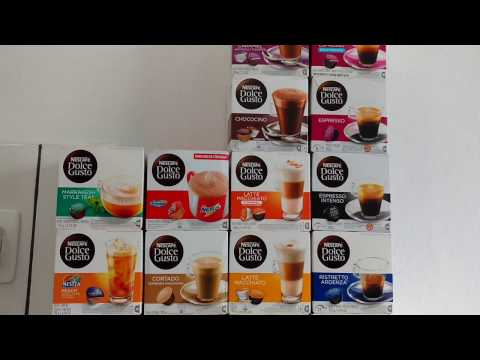 Dolce Gusto - Review de sabores