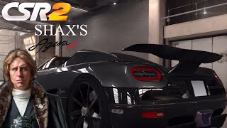 CSR Racing 2: Winning Shax's Agera R