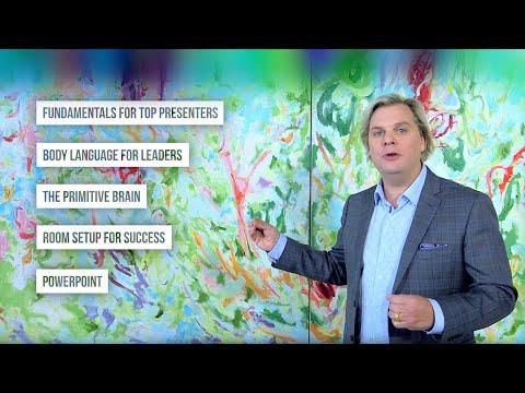 Presentation Skills Training for Leaders Online Learning - YouTube