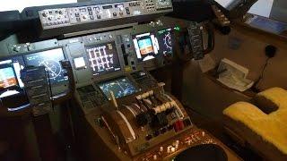 Calgary man builds basement flight simulator