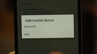 Use a Bluetooth device to unlock your Android phone or tablet