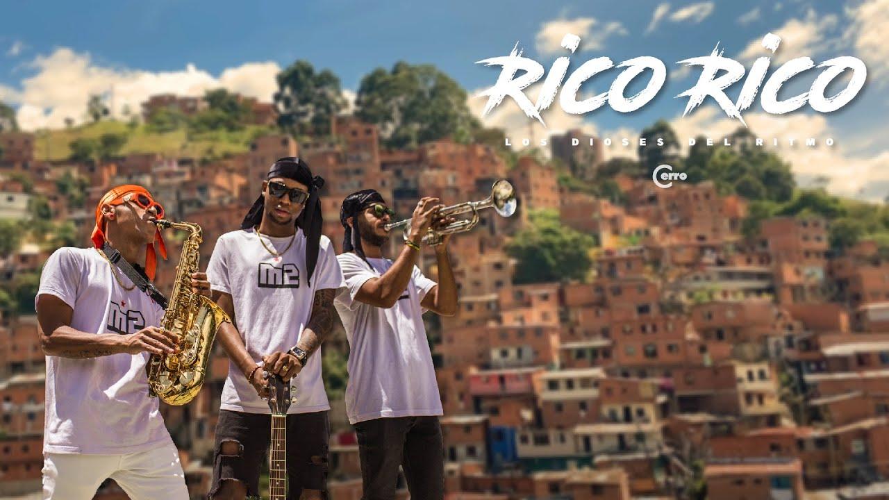 'Los Dioses del Ritmo', tendencia con el Challenge (Ay Rico Rico Rico) de su nueva canción 'Alo Michael