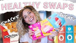 My Favorite Healthy Food Alternatives | 8 Healthy Snack & Treat Ideas
