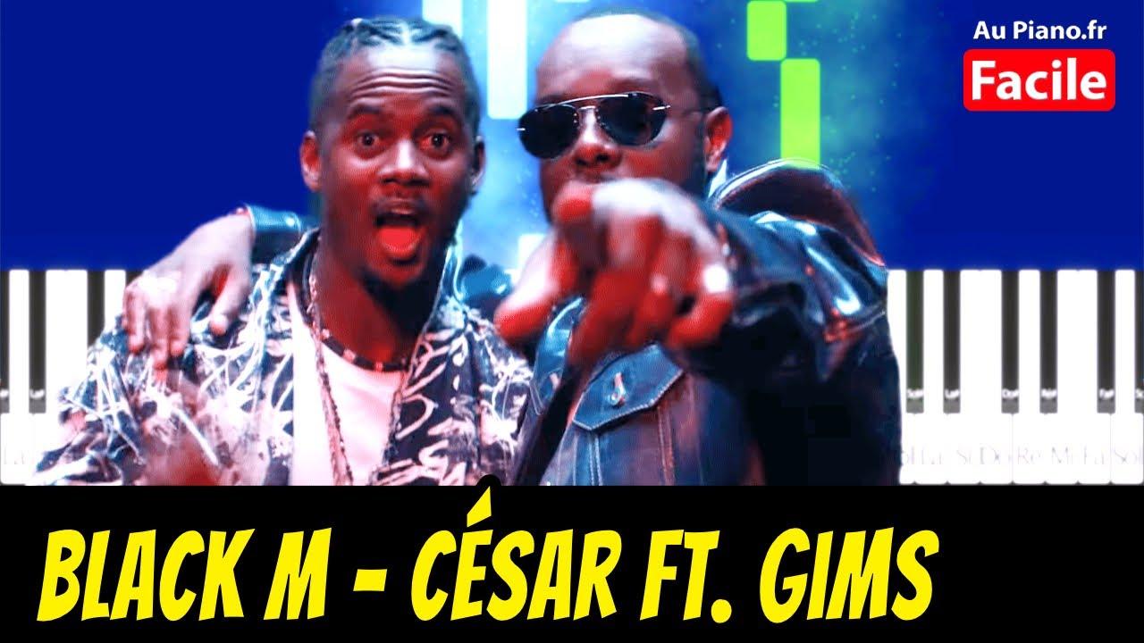 Black M César ft. Gims - Piano Cover Tutorial (Au Piano.fr)