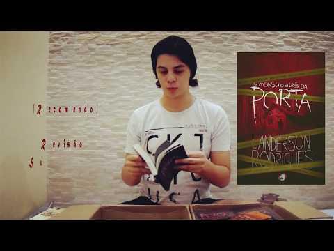 UNBOXING EDITORA PENDRAGON + Apresentação do meu livro O Monstro Atrás da Porta