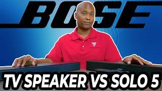 Bose Solo 5 TV Speaker vs 2020 Bose TV Speaker