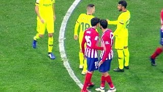 Этого не показали по телевизору!!! Умтити поссорил Косту и Гризманна. Атлетико - Барселона