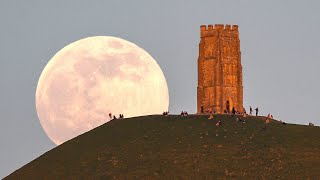 First supermoon of 2021 lights up dawn skies around the world