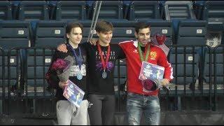 Minsk Ice Star 2018 Medal ceremony men