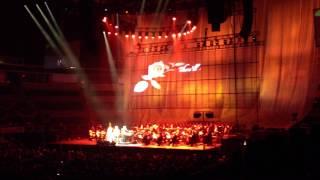 Andrea Bocelli and Katherine Jenkins singing live (Non ti scordar di me) Nov.23rd 2012