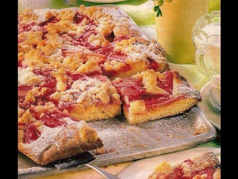 Пирог с ревенем - вкусно и полезно