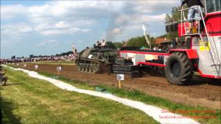 preview picture of video 'Bremswagenziehen Notzing 2012 Panzer vs. Bremswagen'