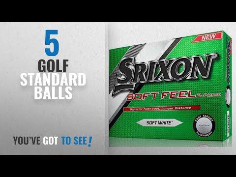 Top 10 Golf Standard Balls [2018]: Srixon Men's Soft Feel Dozen Golf Balls, Soft White, Model 2017