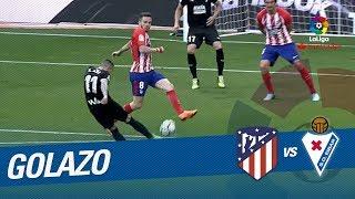 Golazo de Rubén Peña (2-2) Atlético de Madrid vs SD Eibar