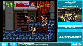 Super Castlevania IV by FuriousPaul in 35:15 - Summer Games Done Quick 2015 - Part 106