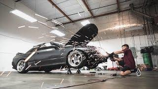 Cutting up my Skyline GTR!