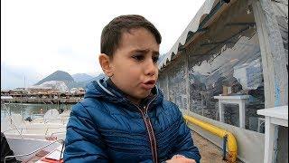 Kıyıdan Yüzlerce Balık Yakaladık !! / Oğlumun Eline Kanca Saplandı :(