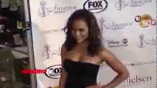 Monica Raymund 2013 IMAGEN Awards Red Carpet