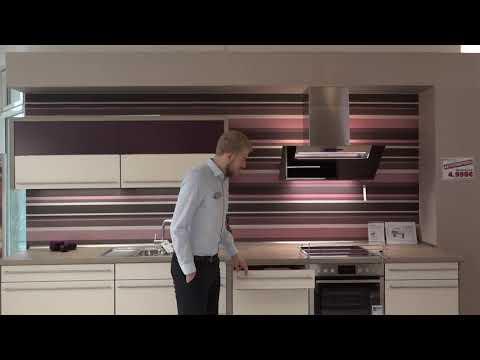 Moderne Magnolie matte Küche Modell 2069