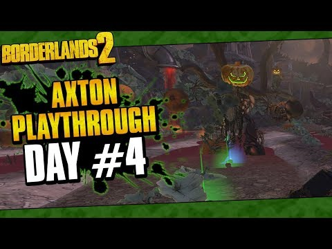 Borderlands 2 | Axton Reborn Playthrough Funny Moments And Drops | Day #4